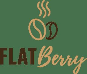 Flatberry Markt Logo Braun
