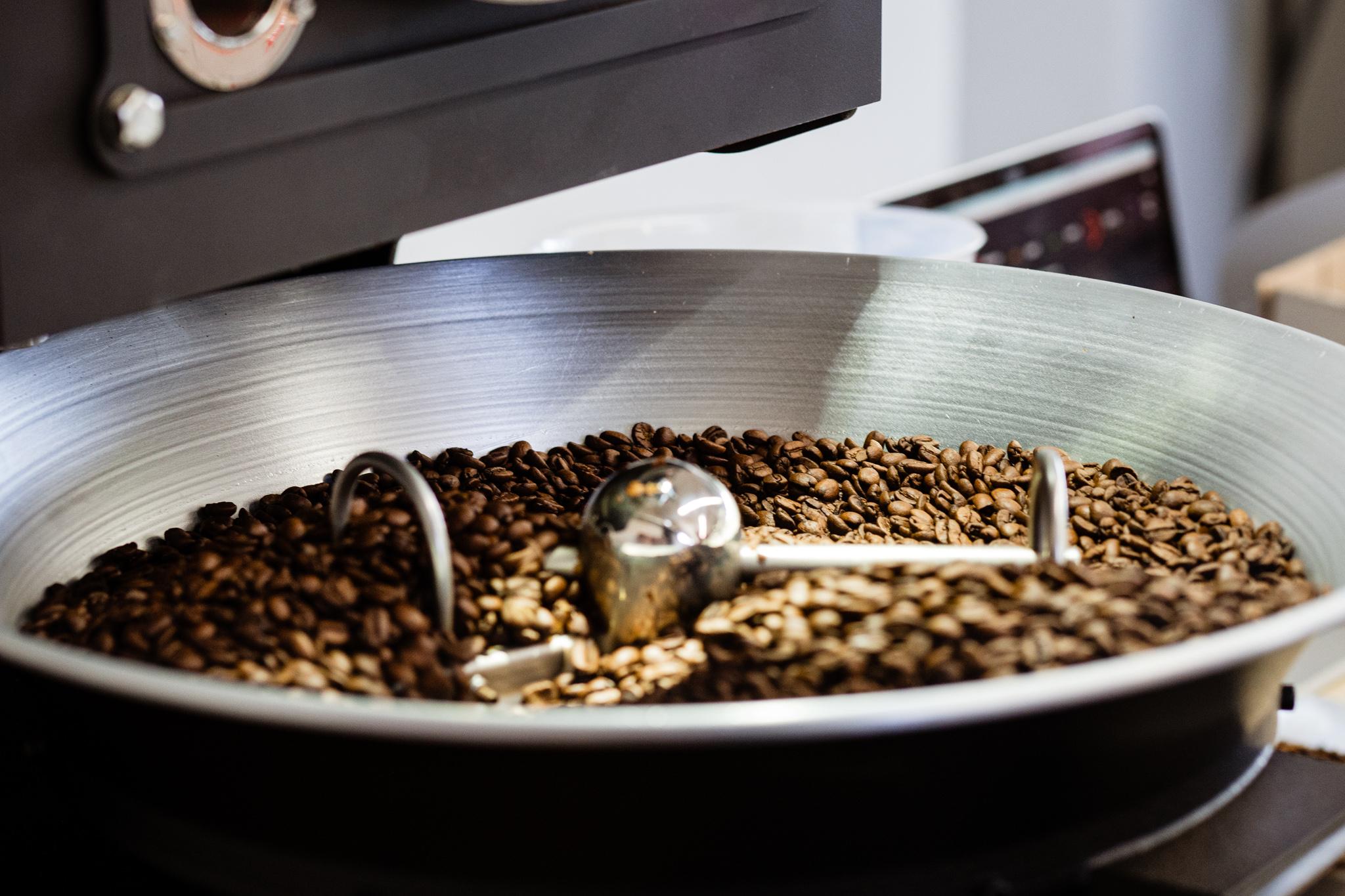 Roestprozess_Abkuehlung_Kaffeebohnen
