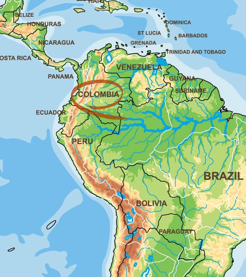 Kolumbien Kaffeeanbaugebiet