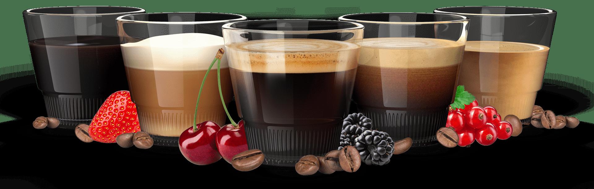 Flatberry Market Kaffee Arten