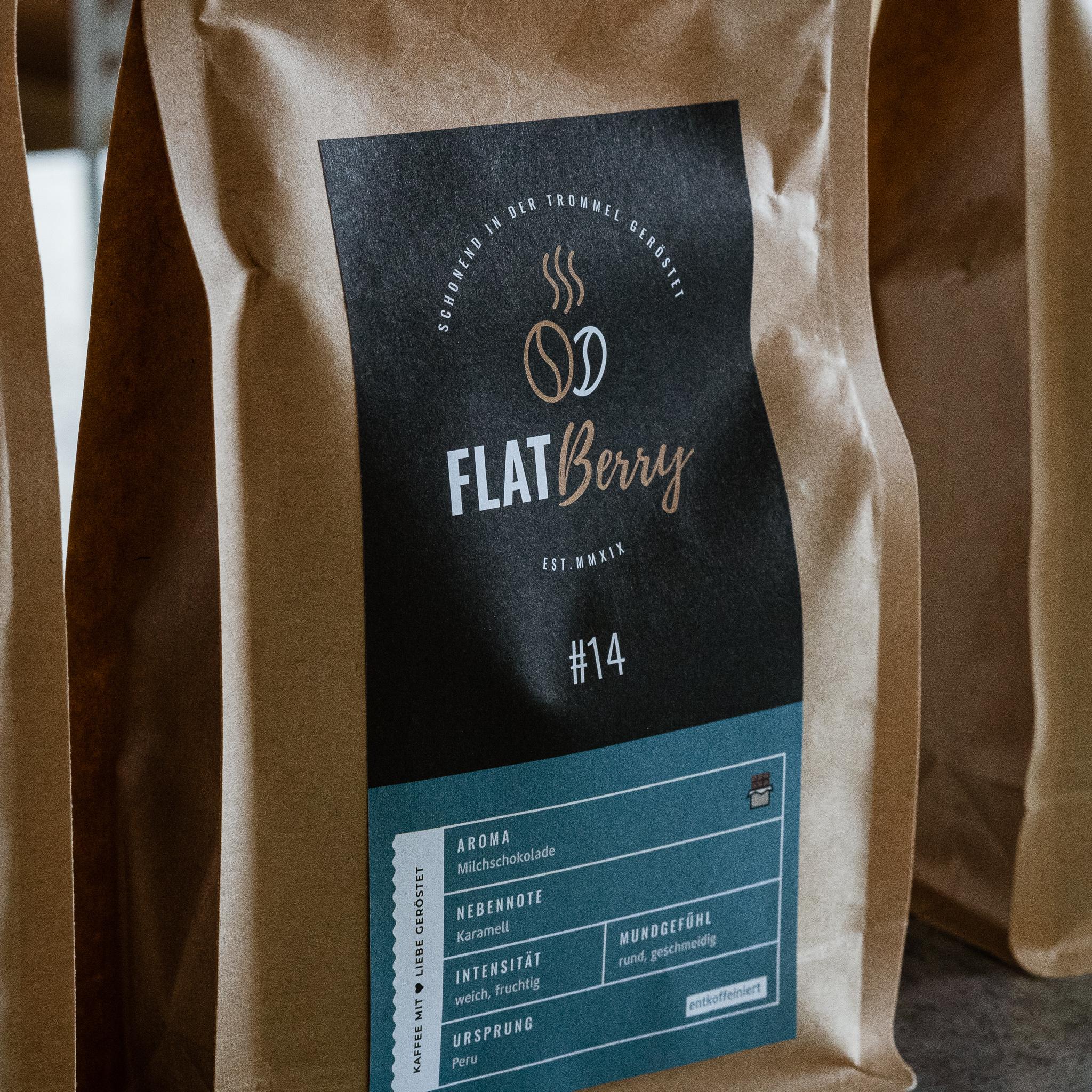 Entkoffeinierter bio Kaffee DECAF 14
