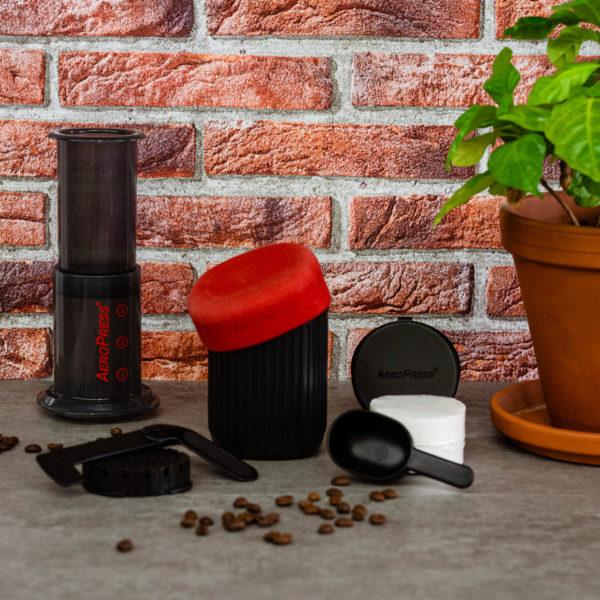 Kaffee im Urlaub genießen