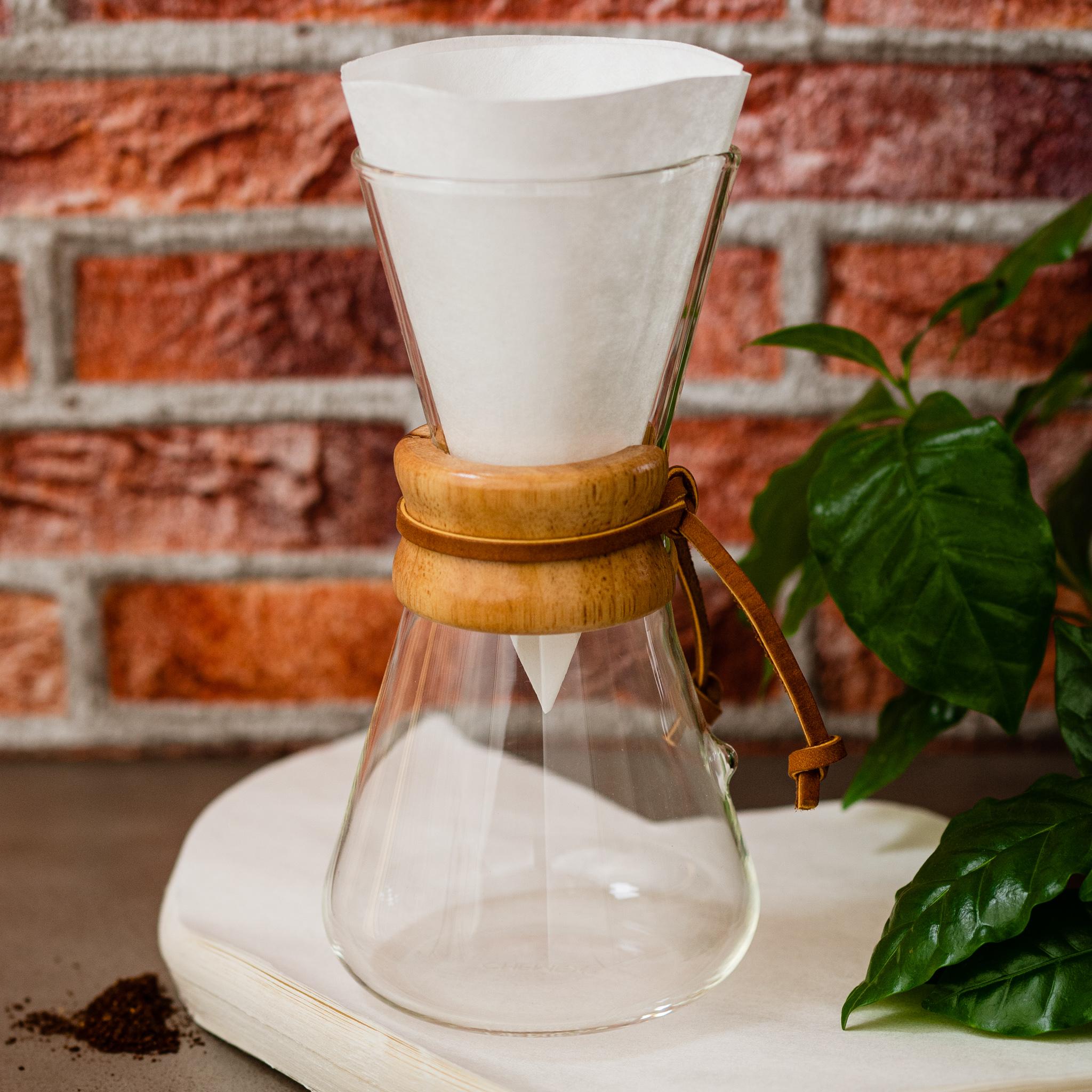 Chemex 1-3 Tassen mit Chemex-Filter