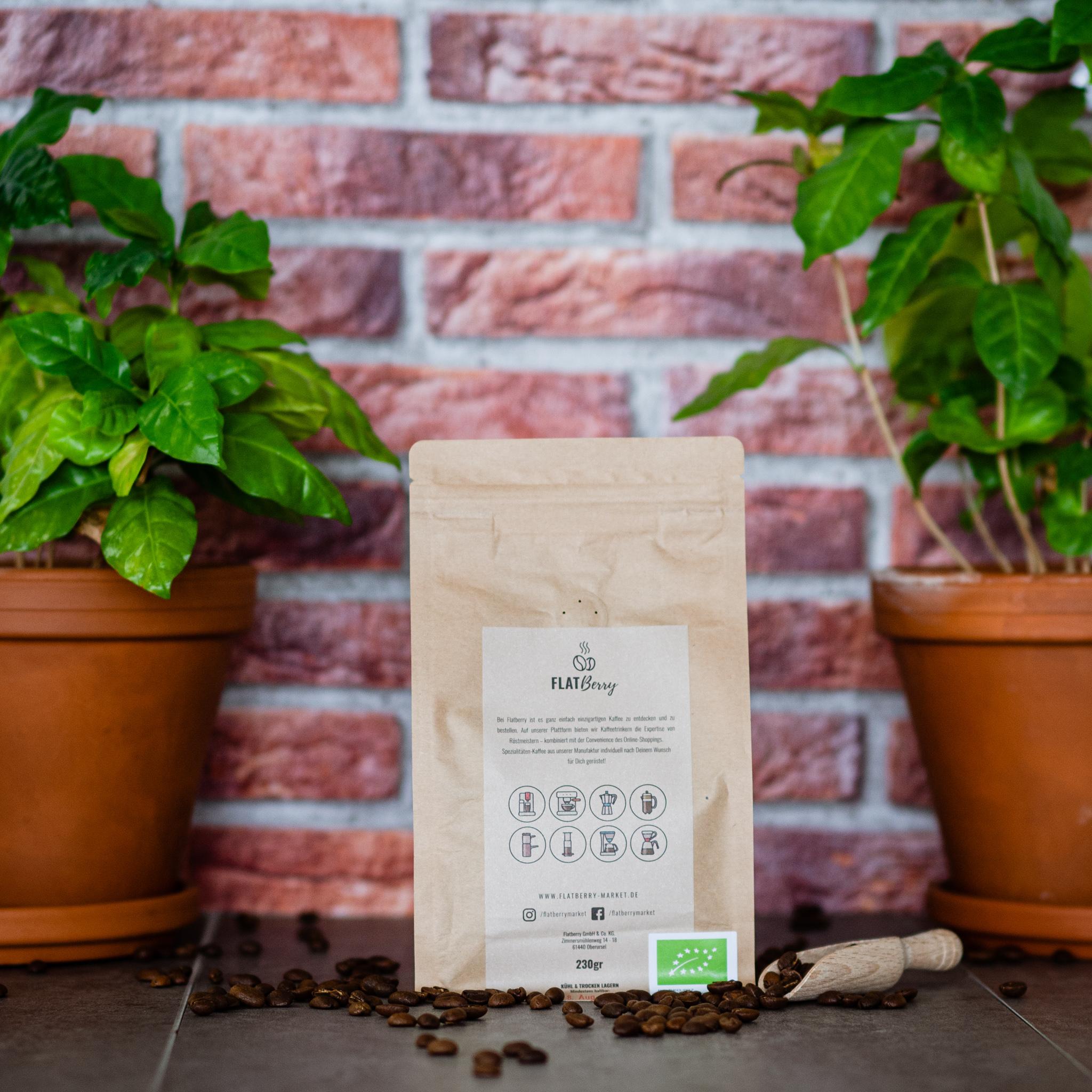 Flatberry EU Bio Kaffee Rückseite Verpackung_KeepCup