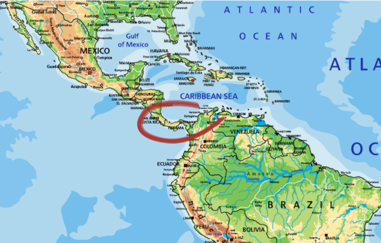 Kaffeeanbaugebiet Panama