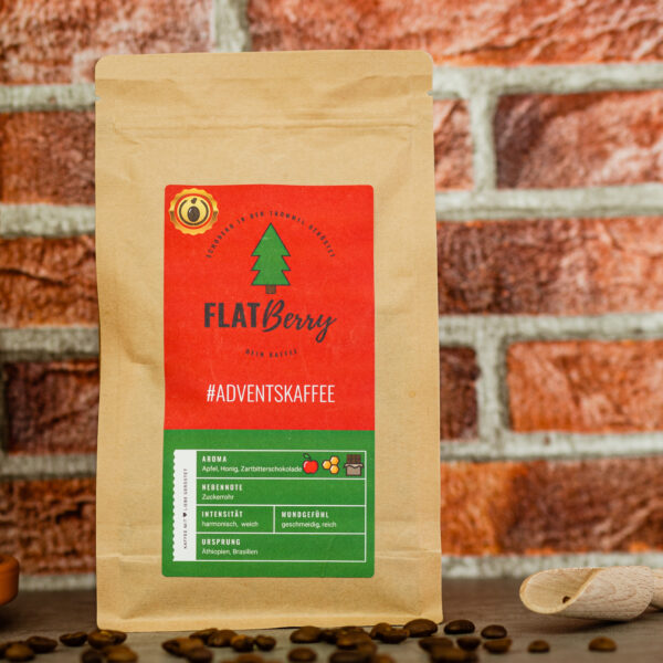 Flatberry Adventskaffee Weihnachtskaffee