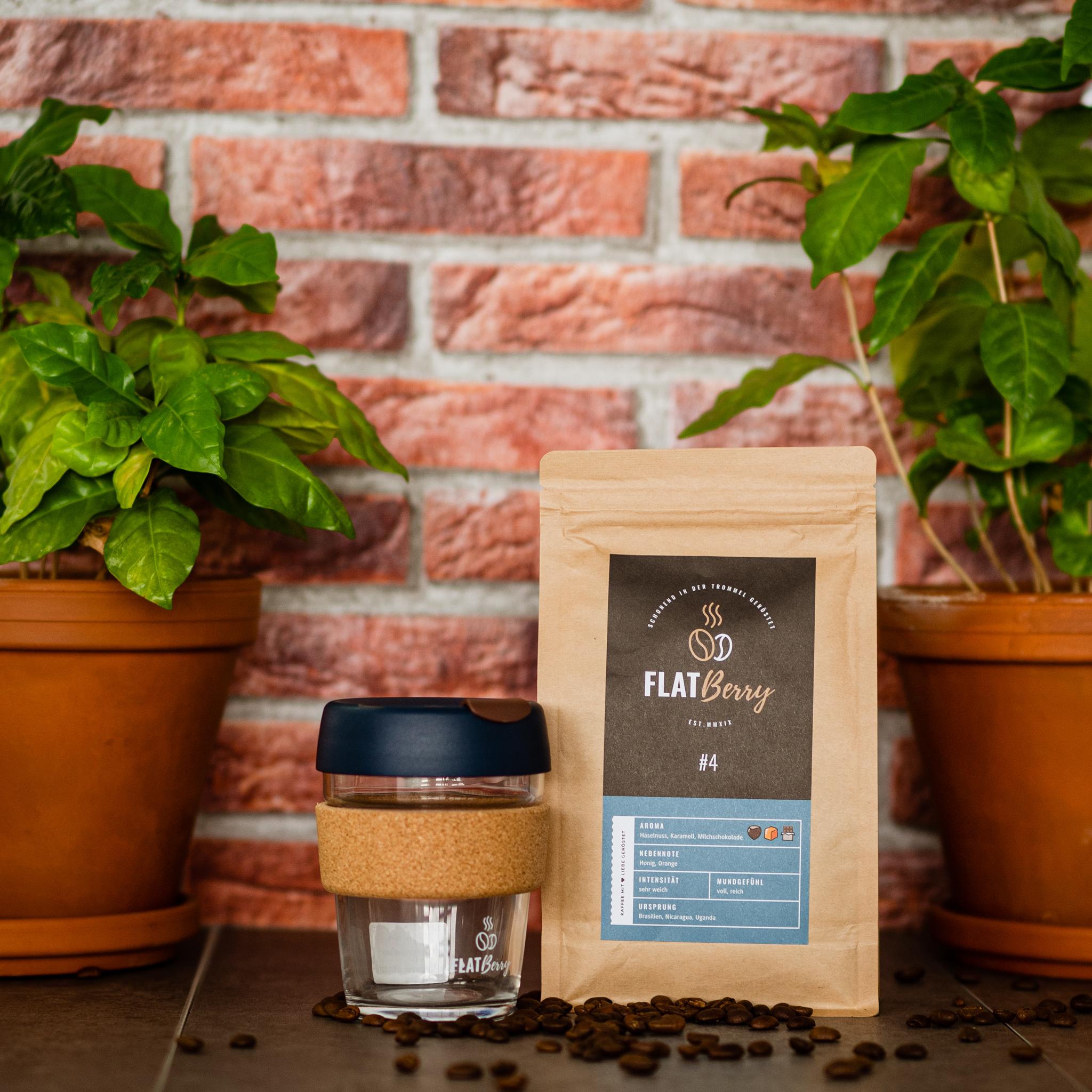 Espresso Kaffee Geschenkbox mit KeepCup