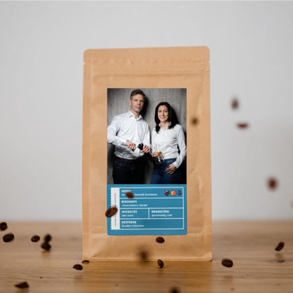 Personalisierung Individualisierung Foto Etikett