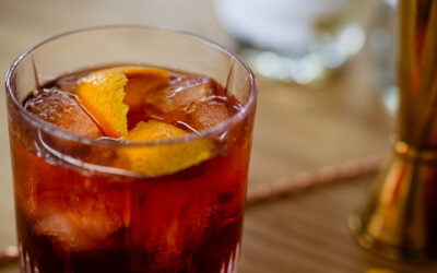 Coldbrew No-groni – Cold Brew Cocktail ohne Alkohol