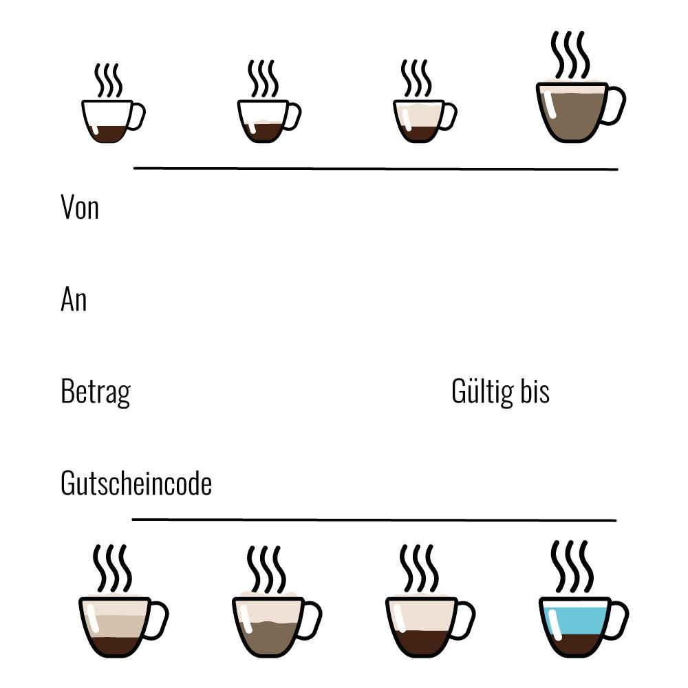 Flatberry Kaffee Gutschein Geschenkgutschein