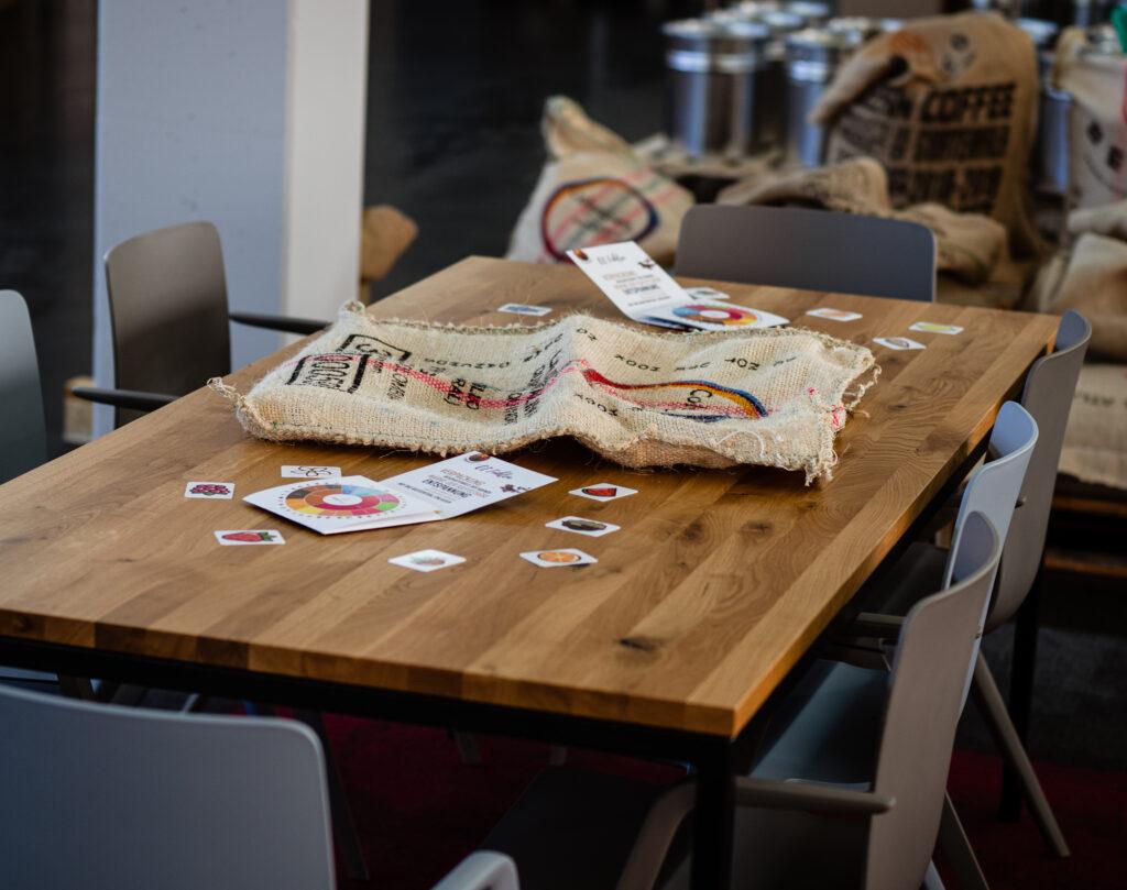 Welt der Kaffeearomen bei Flatberry