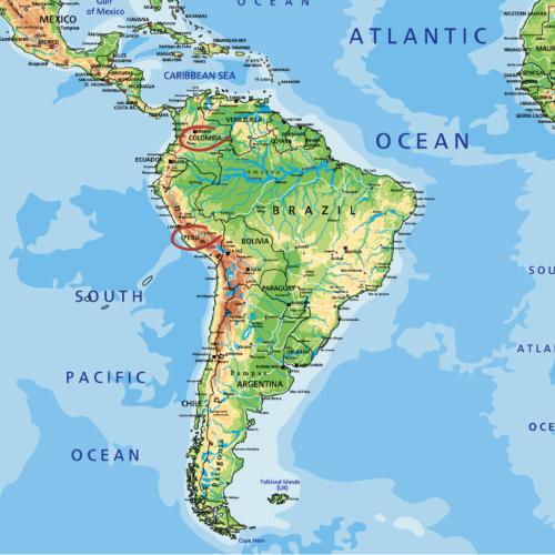 Kolumbien Peru Kaffee ohne Koffein