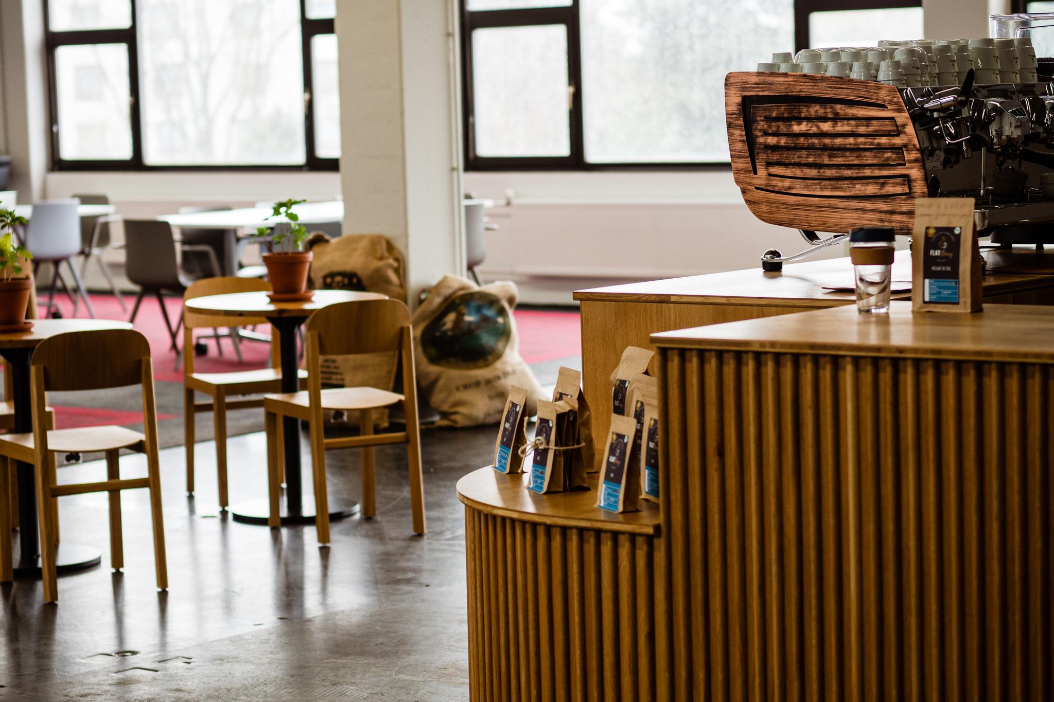 Raum Räumlichkeiten Kaffeeseminar Baristakurs