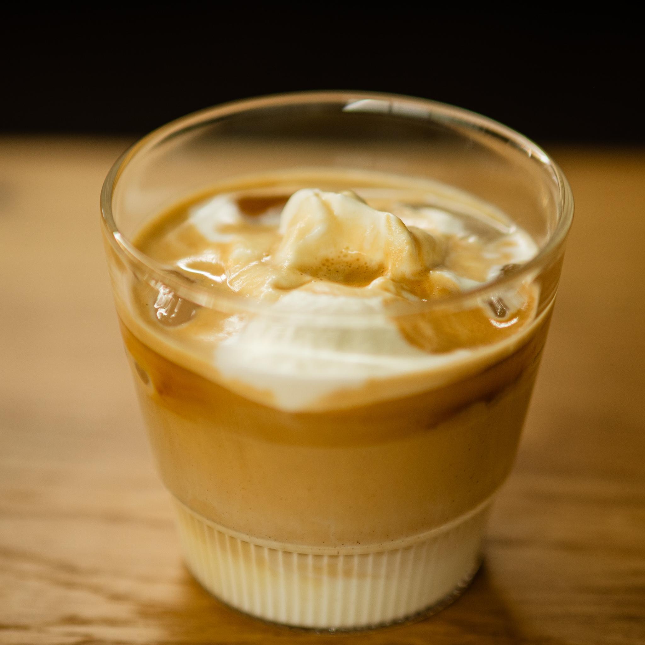 Instant Kaffee Rezept Dalgona Trendgetränk